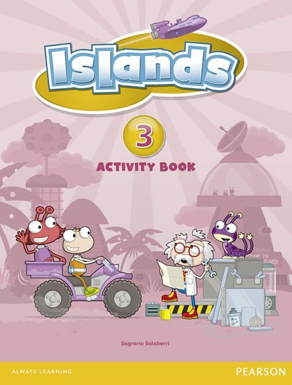 Salaberri Sagrario: Islands 3 Activity Book plus PIN code