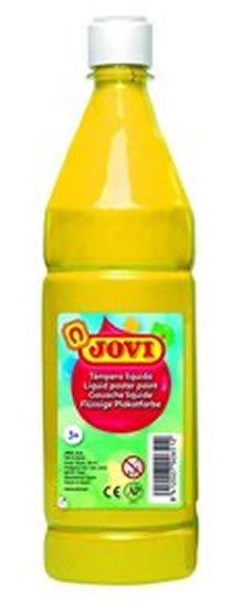 neuveden: JOVI temperová barva 1000ml v lahvi žlutá