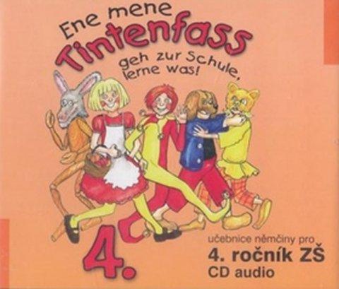 Jankásková Miluše, Ulbert Karla, Dusilová Doris: Ene mene Tintenfass 4 audio CD