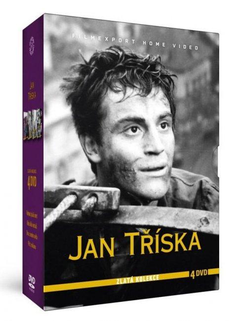 neuveden: Kolekce Jan Tříska (4 DVD)