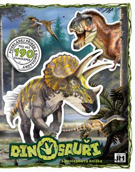 neuveden: Dinosauři - Samolepková knížka