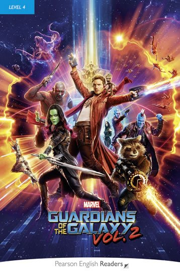 Crook Marie: PER | Level 4: Marvel´s The Guardians of the Galaxy Vol. 2 Bk/MP3 CD