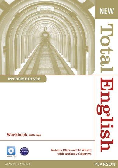Cosgrove Anthony: New Total English Intermediate Workbook w/ Audio CD Pack (w/ key)