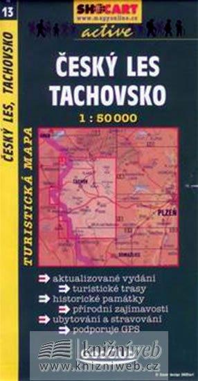 neuveden: Český les, Tachovsko 1:50T -  turist .mapa