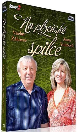 neuveden: V. Žákovec a A.Volínková - Na plzeňské spilce - DVD