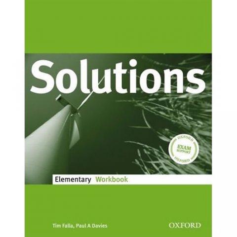 Falla Tim, Davies Paul A.: Solutions Elementary WorkBook (International Edition)