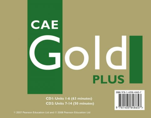 Kenny Nick: CAE Gold Plus 2008 Coursebook Class CD 1-2