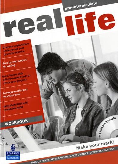 Reilly Patricia: Real Life Pre-Intermediate Workbook w/ Multi-Rom Pack