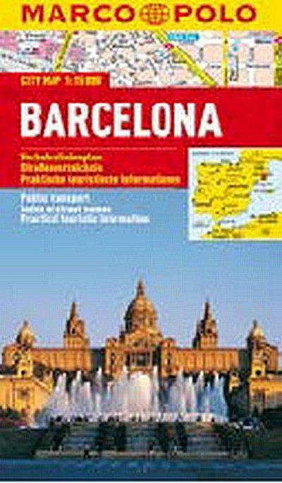 neuveden: Barcelona - City Map 1:15000