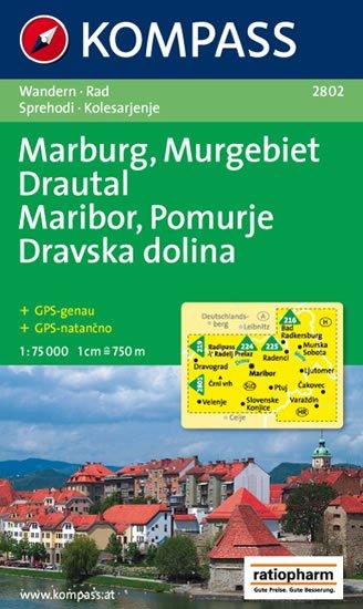 neuveden: Marburg,Pomurje,Drautal 2802 / 1:75T NKOM