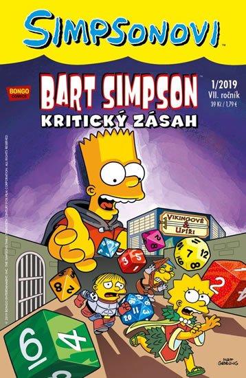 kolektiv autorů: Simpsonovi - Bart Simpson 1/2019 - Kritický zásah