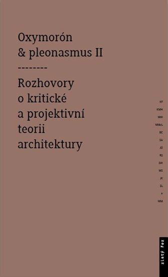 Mitášová Monika: Oxymorón a pleonasmus II - Rozhovory o kritické a projektivní teorii archit
