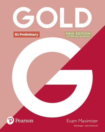 Edwards Lynda, Newbrook Jacky: Gold B1 Preliminary 2018 Exam Maximiser no key