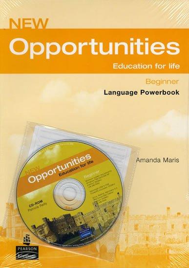 Maris Amanda: New Opportunities Beginner Language Powerbook Pack