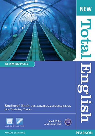 Hall Diane: New Total English Elementary Students´ Book w/ Active Book and MyEnglishLab