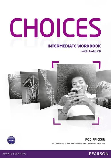 Fricker Rod: Choices Intermediate Workbook w/ Audio CD Pack
