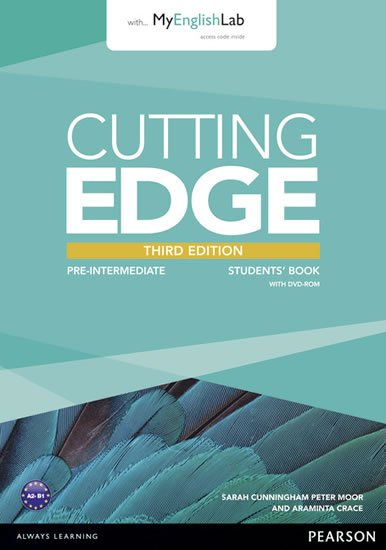 Crace Araminta: Cutting Edge 3rd Edition Pre-Intermediate Students´ Book w/ DVD & MyEnglish