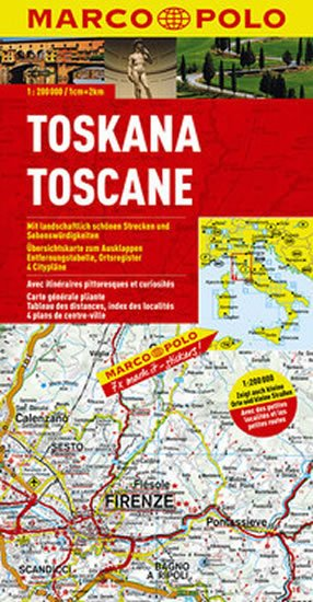 neuveden: Itálie č. 7- Toskana/mapa 1:200T MD