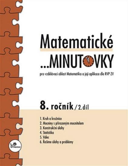 Hricz Miroslav: Matematické minutovky pro 8. ročník / 2. díl - Pro vzdělávací oblast Matema