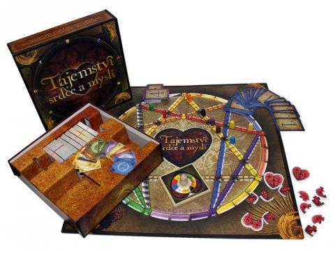 neuveden: Tajemství srdce a mysli - stolní hra