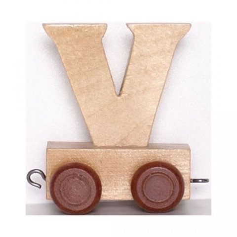 neuveden: Vagónek V - hnědá kolečka