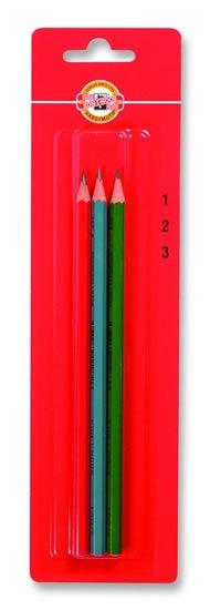 neuveden: Koh-i-noor tužka grafitová šestihranná č.1, 2, 3  set 3 ks