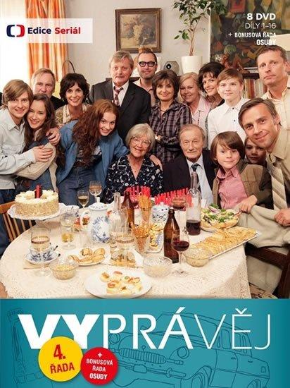 neuveden: Vyprávěj 4. řada (reedice) - 8 DVD
