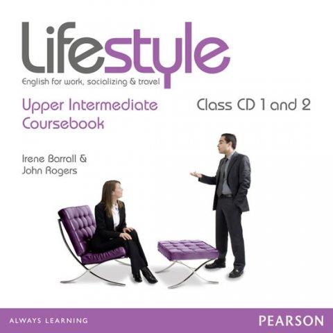 Rogers John: Lifestyle Upper Intermediate Class CDs