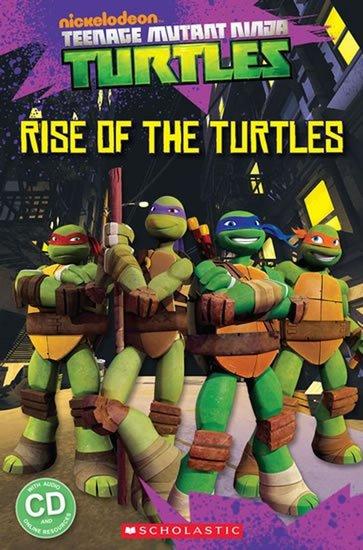 Davis Fiona: Level 1: Teenage Mutant Ninja Turtles Rise of the Turtles+CD (Popcorn ELT P