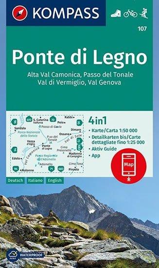 neuveden: Ponte di Legno, Alta Val   107 NKOM