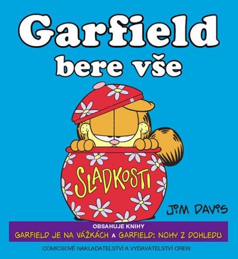 Davis Jim: Garfield bere vše (č.7+8)