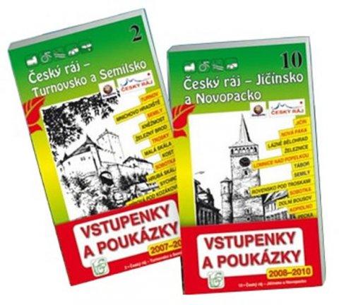 neuveden: Český ráj - Balíček průvodců (2-Turnovsko a Semilsko, 10-Jičínsko a Novopac
