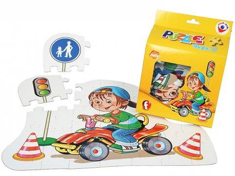 neuveden: Puzzle tvarove SHAPE II.  BABY
