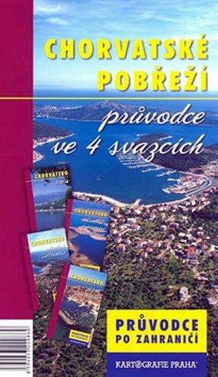 kolektiv: Chorvatské pobřeží/průvodce ve 4 svazcích