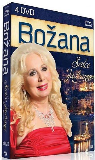 neuveden: Božana - Srdce Jadranu - 4 DVD