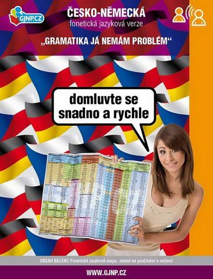 neuveden: Česko-německá jazyková mapa - obecná-fonetická