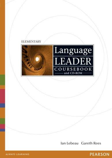 Rees Gareth: Language Leader Elementary Coursebook w/ CD-ROM Pack