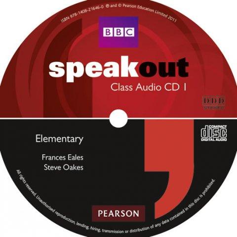 Eales Frances: Speakout Elementary Class CD (x2)