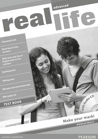 Roberts Rachael: Real Life Advanced Test Book/Test Audio CD Pack