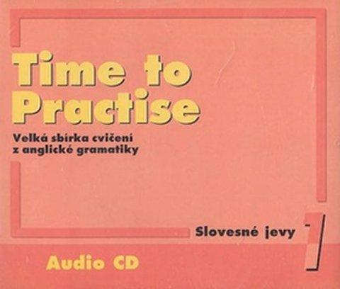 Peters Sarah, Gráf Tomáš: Time to Practise 1 Slovesné jevy audio CD