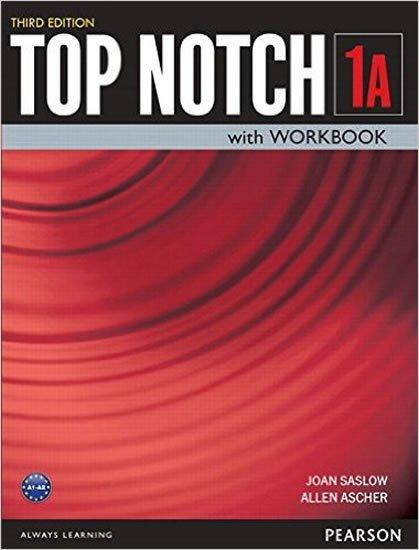 Saslow Joan M.: Top Notch 1 Students´ Book/Workbook Split A