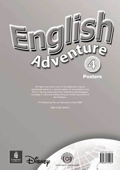 neuveden: English Adventure 4 Posters