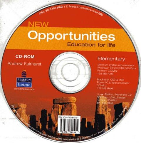 Fairhurst Andrew: New Opportunities Elementary CD-ROM