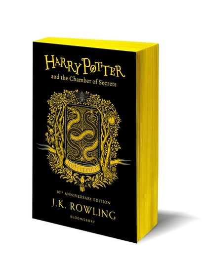 Rowlingová Joanne Kathleen: Harry Potter and the Chamber of Secrets: Hufflepuff Edition