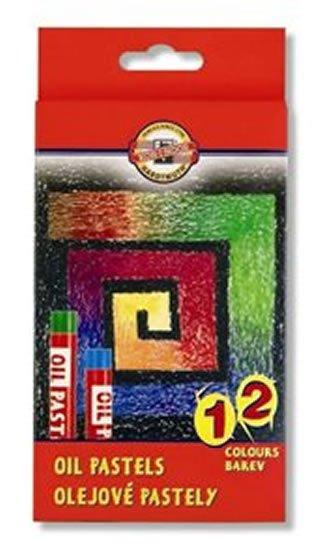 neuveden: Koh-i-noor pastely olejové 12 ks