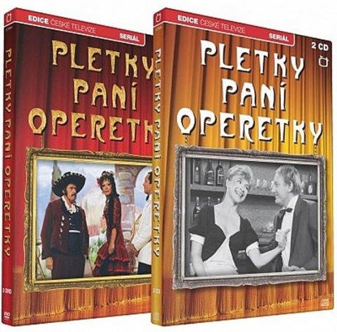 neuveden: Pletky paní operetky - 3 DVD + 2 CD
