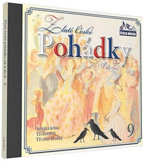 neuveden: Zlaté České pohádky  9. - 1 CD