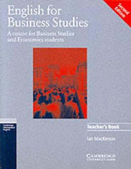 Mackenzie Ian: English for Business Studies: Teacher´s Book
