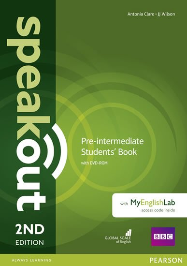 Clare Antonia: Speakout Pre-Intermediate Students´ Book w/ DVD-ROM/MyEnglishLab Pack, 2nd