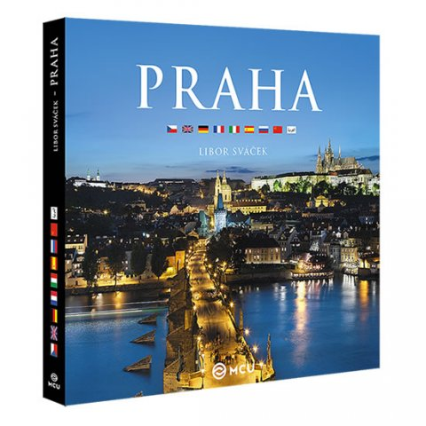 Sváček Libor: Praha - velká / vícejazyčná
